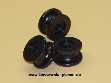 Rundknopf-Abspannhaken (10-er Pack.)